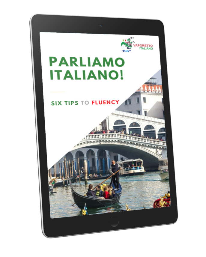 Free ebook to learn Italian