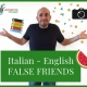 Italian English false friends